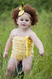 Cute toddler girl Stock Image