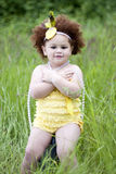 Cute toddler girl Royalty Free Stock Images
