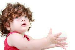 Cute toddler girl Royalty Free Stock Image