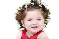 Cute toddler girl Stock Photos