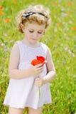 Cute toddler girl Stock Image