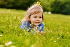 Cute toddler Royalty Free Stock Photos