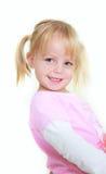 Cute toddler girl portrait Stock Image