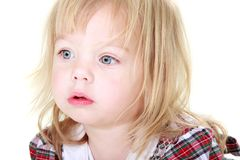 Cute toddler girl portrait Royalty Free Stock Photo