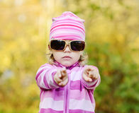 Cute toddler Stock Photo