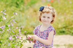 Cute toddler Stock Photography