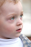 Cute toddler - redhead Stock Images