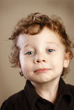 Cute Toddler with Ringlets Stock Images