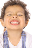 Cute toddler smile Royalty Free Stock Photos