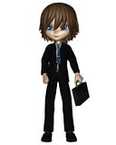 Cute Toon Business Man - 1 Royalty Free Stock Photography