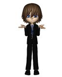 Cute Toon Business Man - 3 Royalty Free Stock Images