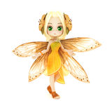 Cute toon fairy posing Royalty Free Stock Images