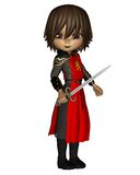 Cute Toon Knight - 1 Stock Photography