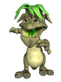 Cute Toon Monster Royalty Free Stock Photo