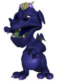 Cute Toon Monster Stock Image