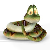 Cute Toon Snake #01 Stock Image