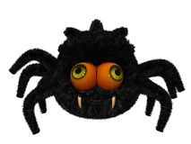 Cute toon spider Stock Photo