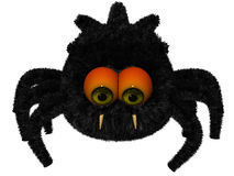 Cute toon spider Royalty Free Stock Photo