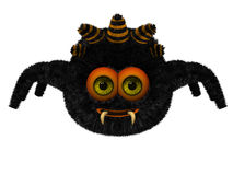 Cute toon spider Royalty Free Stock Photos