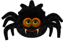 Cute toon spider Royalty Free Stock Photography