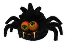 Cute toon spider Stock Image