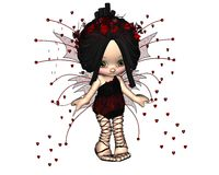 Cute Toon Valentine Fairy - 3 Stock Photos