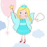Cute tooth fairy vector Stock Photos