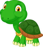 Cute tortoise cartoon Stock Photo