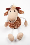 Cute Toy. Photo of a cute key-chain giraffe toy Stock Image