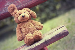 Cute toy bear Royalty Free Stock Images
