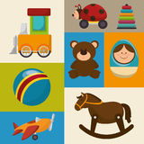 cute toys design Royalty Free Stock Photography