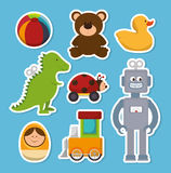 cute toys design Royalty Free Stock Photos