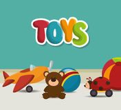 cute toys design Stock Photo