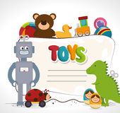 cute toys design Stock Photography