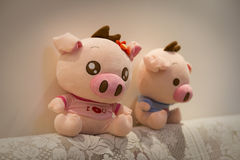 Cute Toys Royalty Free Stock Photography