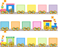 Cute train Stock Images