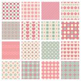 Cute and trendy patterns Stock Photos
