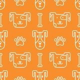 Petshop pattern royalty free illustration