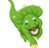 Cute triceratops cartoon illustration. Illustration of Cute triceratops cartoon Stock Photos
