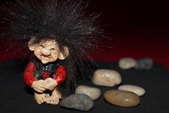 Cute troll Royalty Free Stock Images