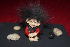 Cute troll royalty free stock image