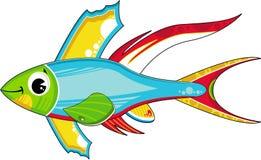 Cute Tropical Fish Royalty Free Stock Photo