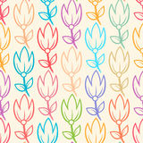 Cute tulips Stock Images