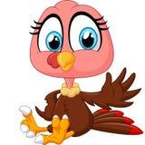 Cute turkey cartoon Royalty Free Stock Photography