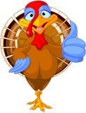 Cute turkey stock illustration