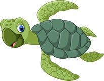 Cute turtle cartoon. Illustration of Cute turtle cartoon Royalty Free Stock Photography