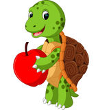 Cute turtle cartoon. Illustration of Cute turtle cartoon Royalty Free Stock Photo