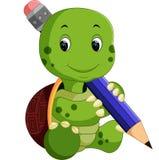 Cute turtle cartoon. Illustration of Cute turtle cartoon Stock Images