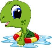 Cute turtle cartoon Stock Photos