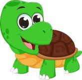 Cute turtle cartoon Stock Photo